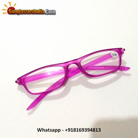 Pink Reading Glasses Power 200
