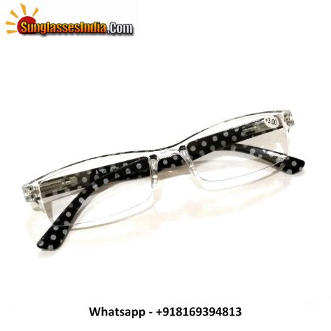 White Reading Glasses Power 300