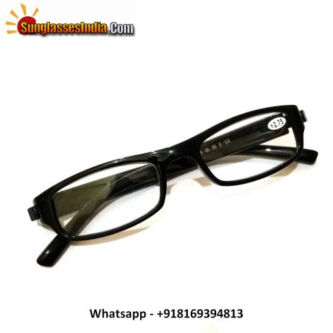 Black Reading Glasses Power 275