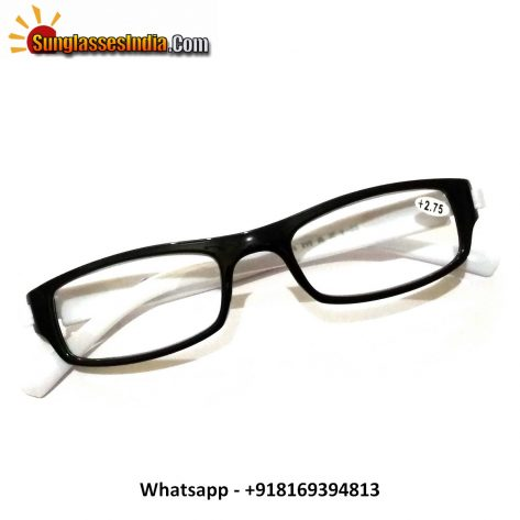 White Reading Glasses Power 275