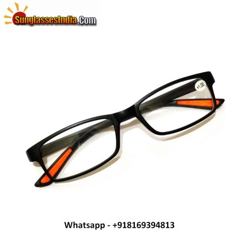 Black Reading Glasses Power 100