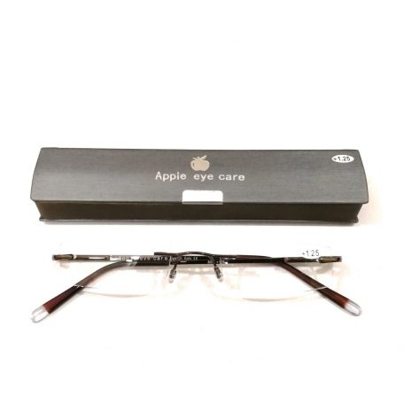 Premium Grey Slim Rimless Reading Glasses