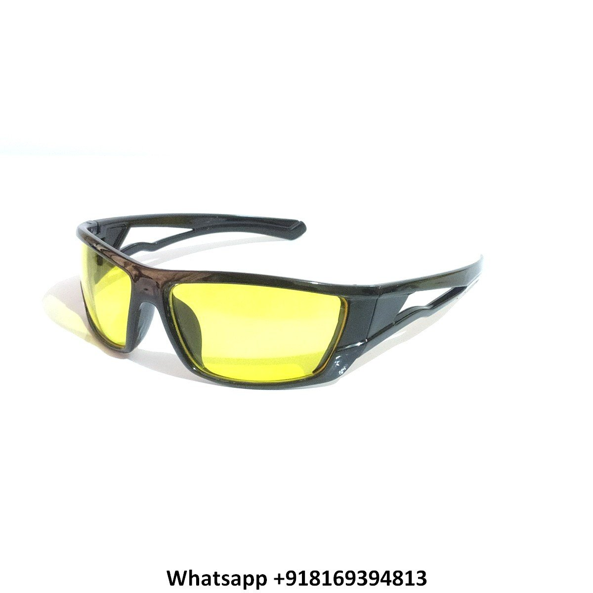 Night Driving Glasses for Men and Women Sunglasses with HD Yellow Lens M08